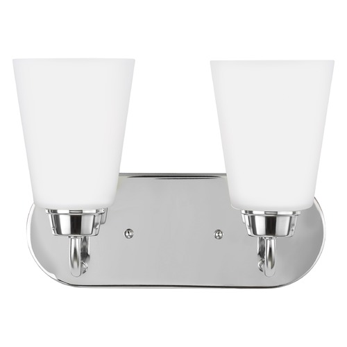 Sea Gull Lighting Sea Gull Lighting Kerrville Chrome Bathroom Light 4415202-05