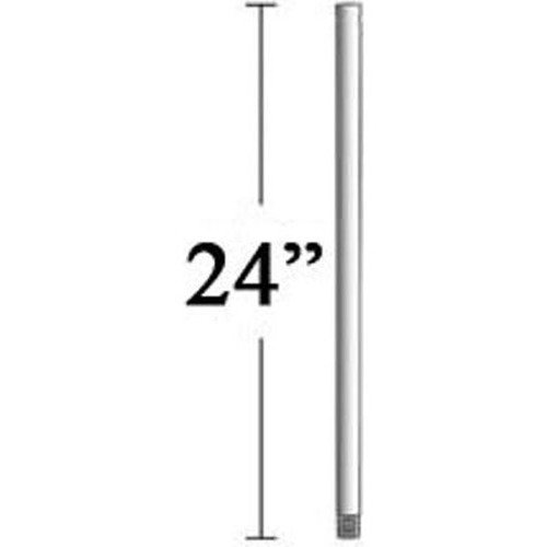 Minka Aire 24-Inch Downrod for Select Minka Aire Fans - Brushed Nickel Finish DR1524-BN