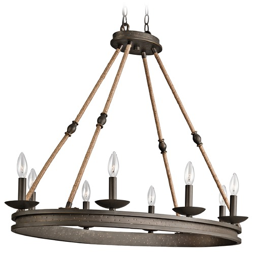 Kichler Lighting Kichler Lighting Kearn Olde Bronze Chandelier 43422OZ