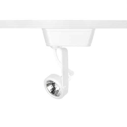 WAC Lighting Wac Lighting White Track Light Head LHT-180L-WT