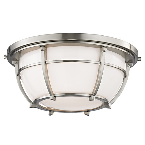 Hudson Valley Lighting Hudson Valley Lighting Conrad Satin Nickel Flushmount Light 4112-SN