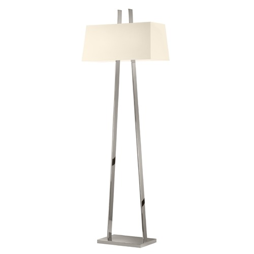 Sonneman Lighting Sonneman A Polished Nickel 2 Light Floor Lamps 4682.35