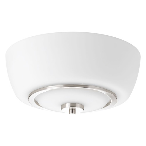 Progress Lighting Progress Lighting Fleet Brushed Nickel Flushmount Light P3670-09