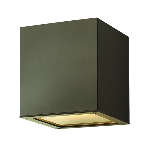 Hinkley Lighting Modern LED Close To Ceiling Light with Etched in Bronze Finish 1763BZ-LED