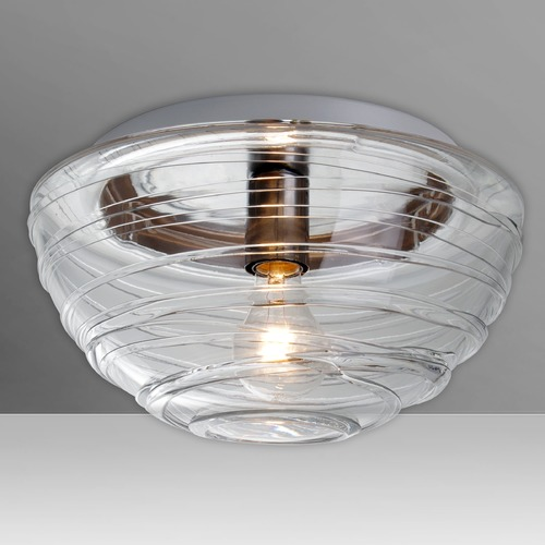 Besa Lighting Besa Lighting Wave Flushmount Light 906261C