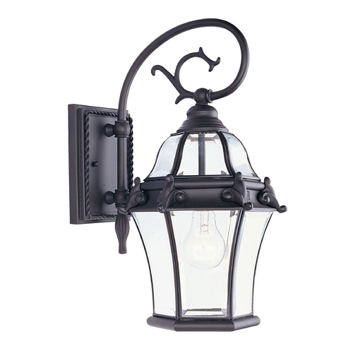 Livex Lighting Livex Lighting Fleur De Lis Bronze Outdoor Wall Light 2620-07