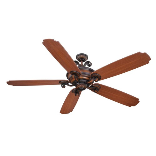 Craftmade Lighting Craftmade Lighting Seville Espana Spanish Bronze Ceiling Fan with Light K11024