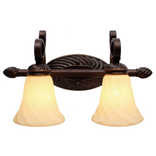 Golden Lighting Golden Lighting Torbellino Cordoban Bronze Bathroom Light 8106-BA2 CDB