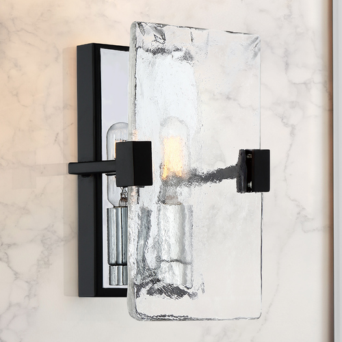 Quoizel Lighting Quoizel Lighting Herriman Earth Black Sconce QW4068EK