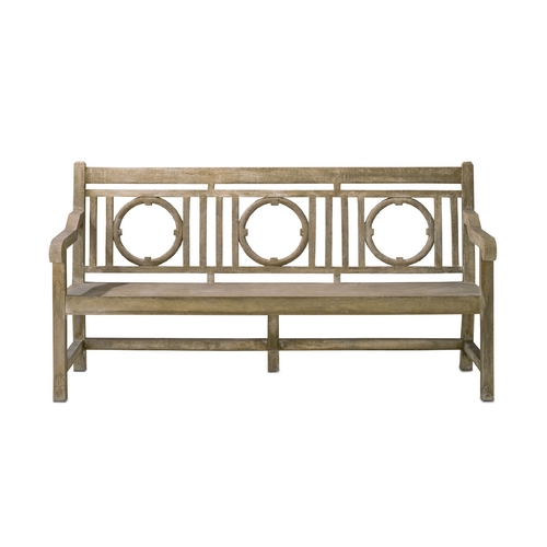Currey and Company Lighting Bench in Portland Finish 2722