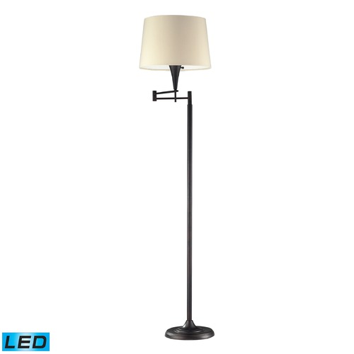 Dimond Lighting Dimond Lighting Aged Bronze LED Swing Arm Lamp with Empire Shade 10293/1-LED