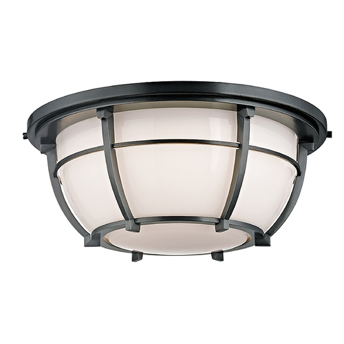 Hudson Valley Lighting Hudson Valley Lighting Conrad Aged Zinc Flushmount Light 4115-AZ