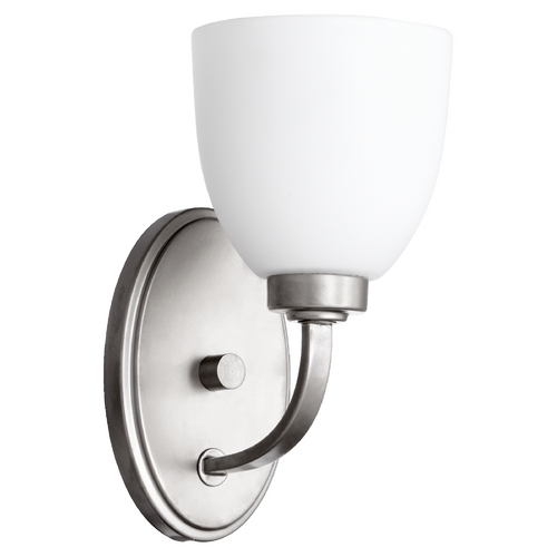 Quorum Lighting Quorum Lighting Reyes Classic Nickel Sconce 5560-1-64