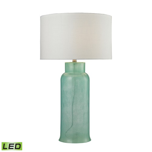Dimond Lighting Dimond Lighting Seafoam LED Table Lamp with Drum Shade D2654-LED