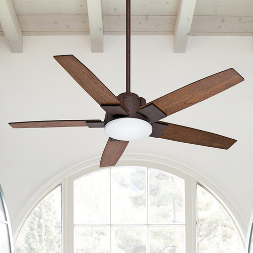 Casablanca Fan Co Casablanca Fan Co Zudio Industrial LED Ceiling Fan with Light 59111