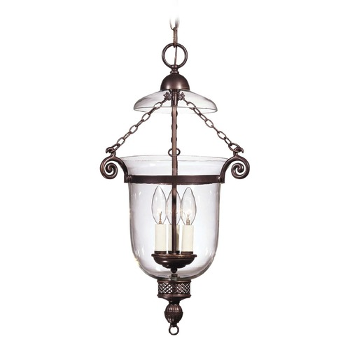 Savoy House Savoy House Old Bronze Pendant Light with Bell Shade 7-80023-3-323