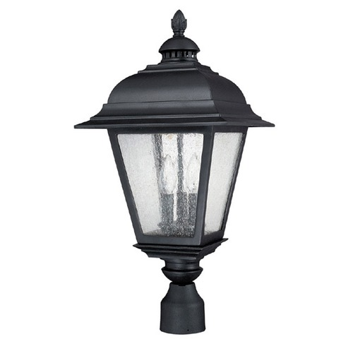 Capital Lighting Capital Lighting Brookwood Black Post Light 9967BK
