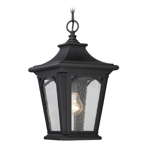 Quoizel Lighting Quoizel Bedford Mystic Black Outdoor Hanging Light BFD1910K