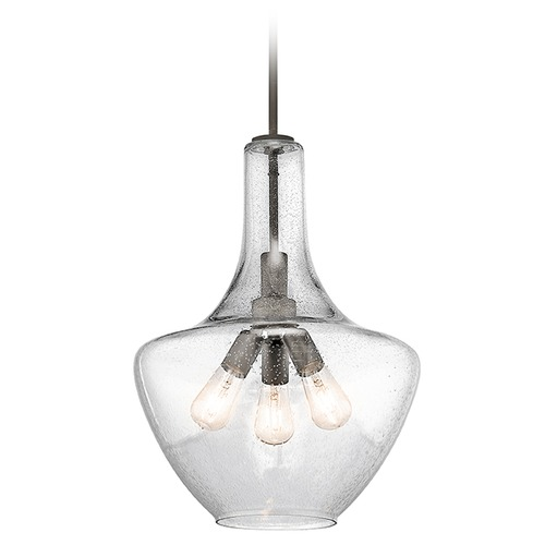 Kichler Lighting Kichler Lighting Everly Pendant Light with Bowl / Dome Shade 42190OZ