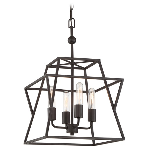 Quoizel Lighting Quoizel Lighting Berwick Western Bronze Pendant Light BWK5204WT