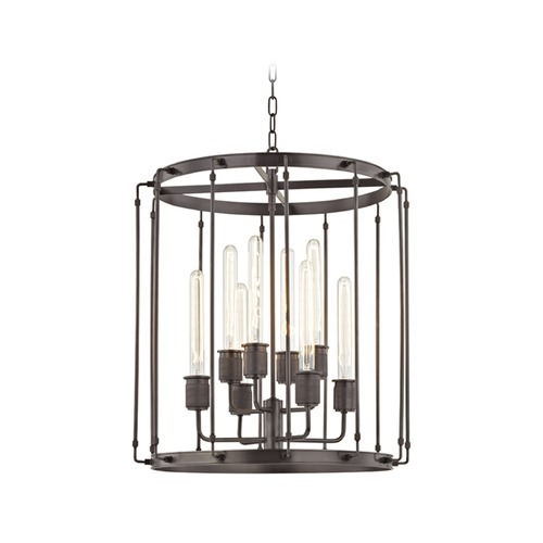 Hudson Valley Lighting Hudson Valley Lighting Hyde Park Old Bronze Pendant Light 9722-OB