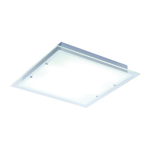 ET2 Lighting Contempra Brushed Aluminum Flushmount Light E22120-24AL