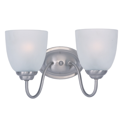 Maxim Lighting Maxim Lighting Stefan Satin Nickel Bathroom Light 10072FTSN