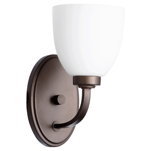 Quorum Lighting Quorum Lighting Reyes Oiled Bronze Sconce 5560-1-86