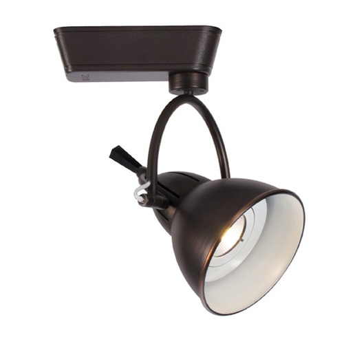 WAC Lighting WAC Lighting Antique Bronze LED Track Light H-Track 4000K 940LM H-LED710F-40-AB