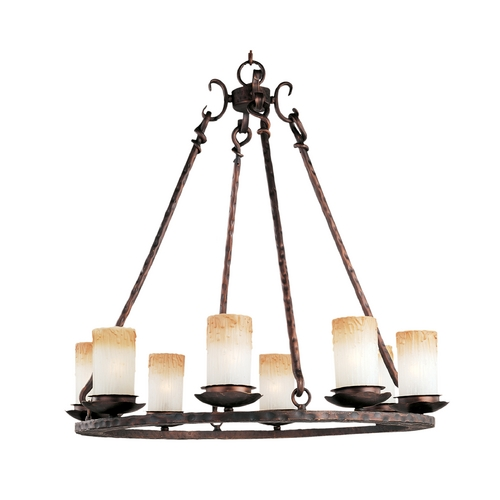 Maxim Lighting Maxim Lighting Notre Dame Oil Rubbed Bronze Chandelier 10976WSOI