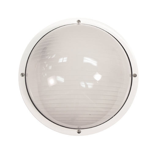 Wave Lighting Nautical Bulkhead Outdoor Wall Light S791WF-WH