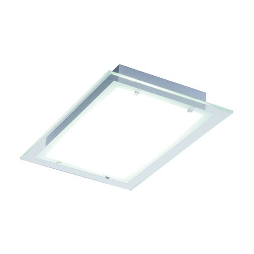 ET2 Lighting Contempra Brushed Aluminum Flushmount Light E22121-24AL