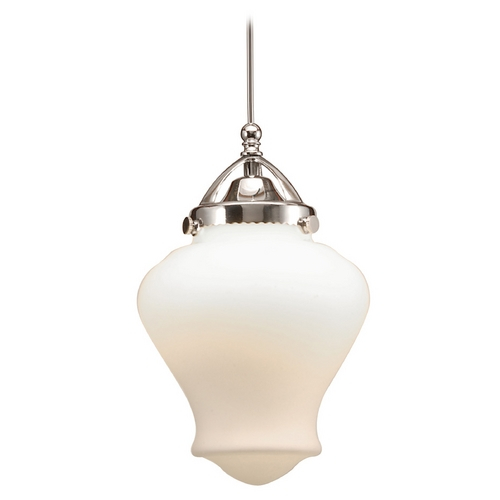 WAC Lighting Wac Lighting Early Electric Collection Chrome LED Mini-Pendant with Urn Shade MP-LED493-WT/CH
