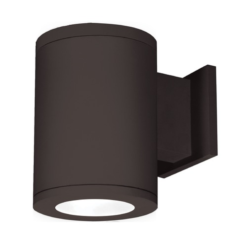 WAC Lighting 6-Inch Bronze LED Tube Architectural Wall Light 2700K 2225LM DS-WS06-F27A-BZ