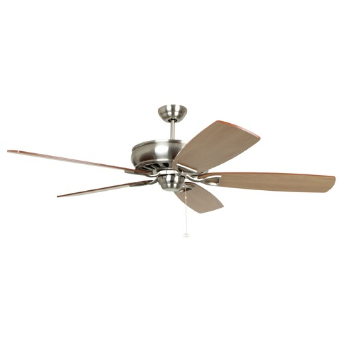 Craftmade Lighting Craftmade Lighting Supreme Air Brushed Polished Nickel Ceiling Fan Without Light K11030