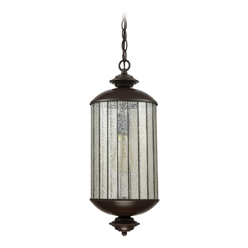 Elk Lighting Mercury Glass Mini-Pendant Light Oil Rubbed Bronze Elk Lighting 72145/1