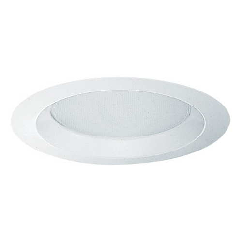 Juno Lighting Group Albalite Shower Trim for 6-Inch Recessed Housing 240-WH