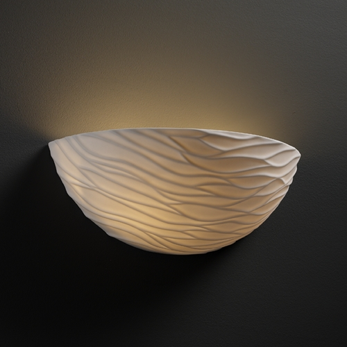 Justice Design Group Justice Design Group Limoges Collection Sconce POR-8802-WAVE