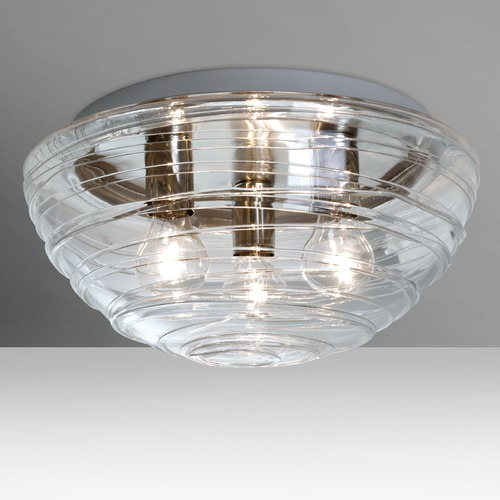 Besa Lighting Besa Lighting Wave Flushmount Light 906361C
