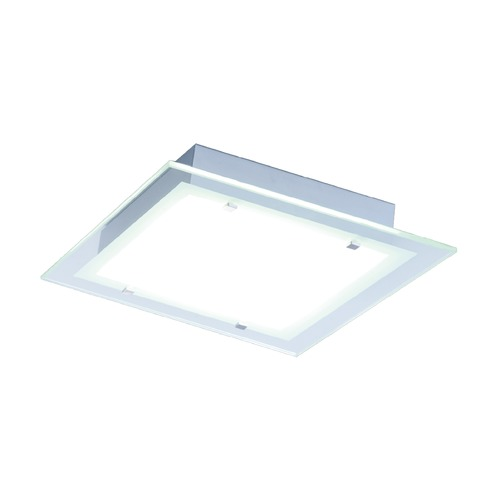 ET2 Lighting Contempra Brushed Aluminum Flushmount Light E22122-24AL