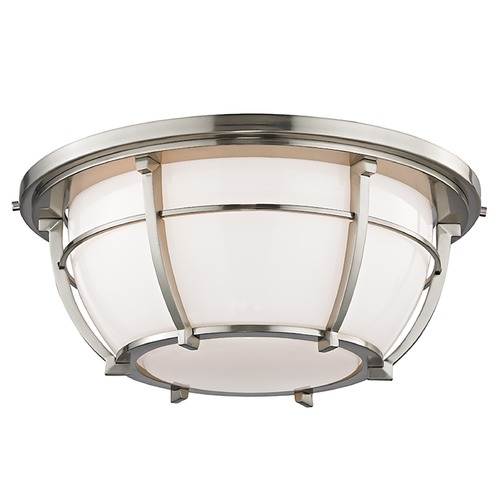 Hudson Valley Lighting Hudson Valley Lighting Conrad Satin Nickel Flushmount Light 4115-SN