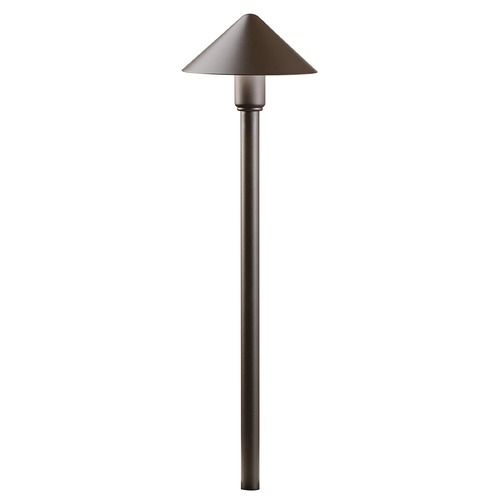 Kichler Lighting Kichler Lighting Textured Architectural Bronze LED Path Light 16120AZT27