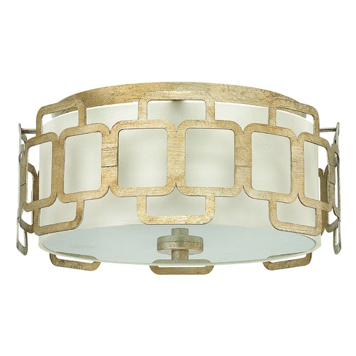Hinkley Lighting Hinkley Lighting Sabina Silver Leaf Flushmount Light 4911SL