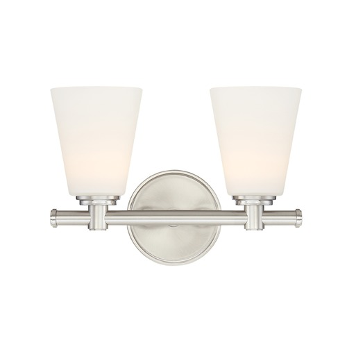 Designers Fountain Lighting Designers Fountain Parker Satin Platinum LED Bathroom Light LED6892-SP