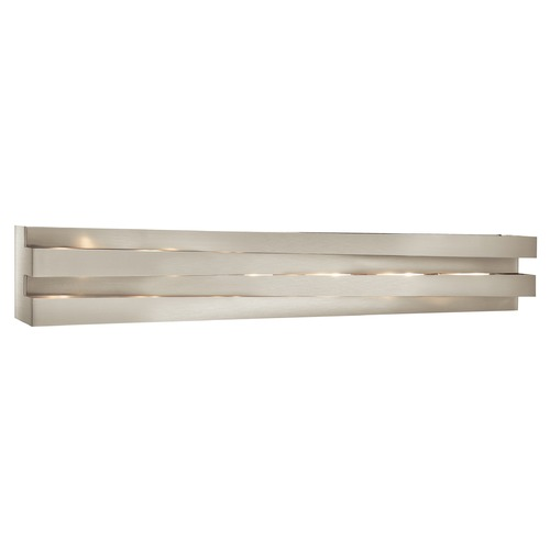 Elan Lighting Elan Lighting Massimik Nickel Bathroom Light 83116