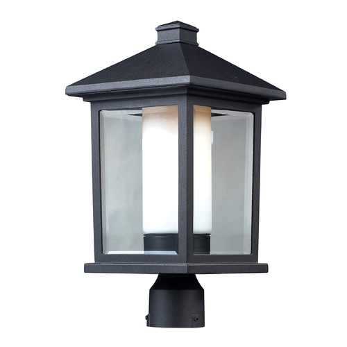 Z-Lite Z-Lite Mesa Black Post Light 523PHB