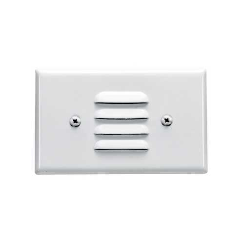 Royal Pacific Lighting Mini Louvered Recessed Step Light 8905WH