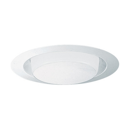 Juno Lighting Group Opal Shower Trim for 6-Inch Recessed Housings 241 WH