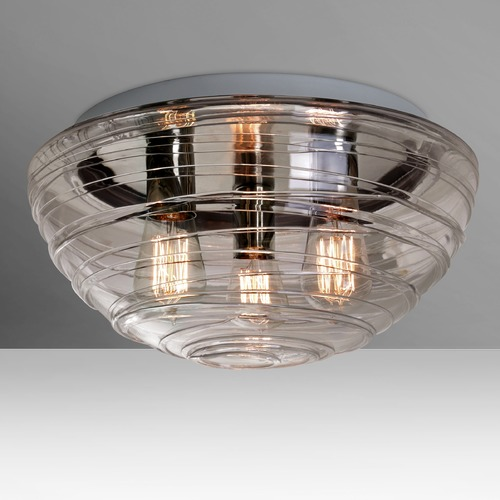 Besa Lighting Besa Lighting Wave Flushmount Light 906302C-EDI