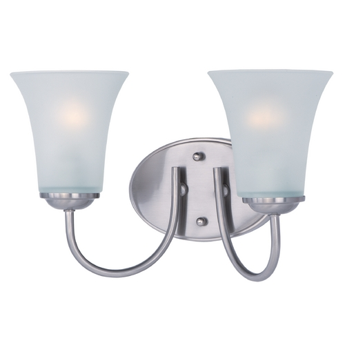 Maxim Lighting Maxim Lighting Logan Satin Nickel Bathroom Light 10052FTSN